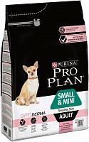 Сухой корм Purina Pro Plan Small & Mini Sensitive Skin с лососем 3 кг