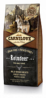 Carnilove Adult Raindeer (для взрослых собак c северным оленем)