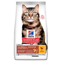 Hills Science Plan Feline Mature Adult 7+ Hairball & Indoor Chicken Сухой корм для кошек с курицей