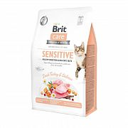 Brit Care Cat GF Sensitive HDigestion & Delicate Taste для привередливых кошек