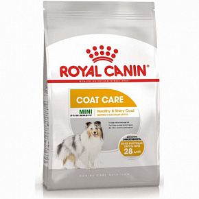 Royal Canin Mini Coat Care сухой корм для собак с тусклой и сухой шерстью